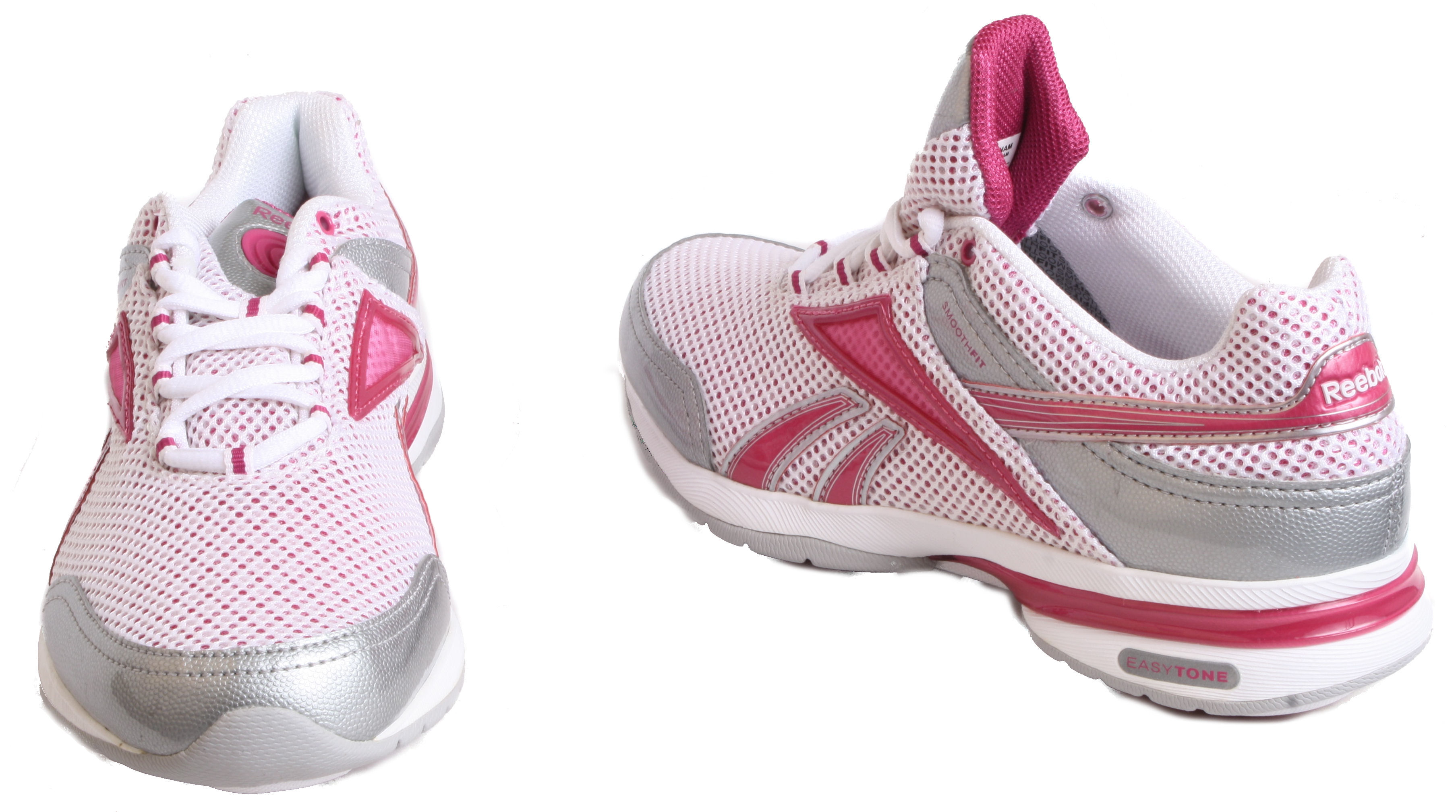Reebok EasyTone Reenew Womens White/Pink OR White/Blue ...